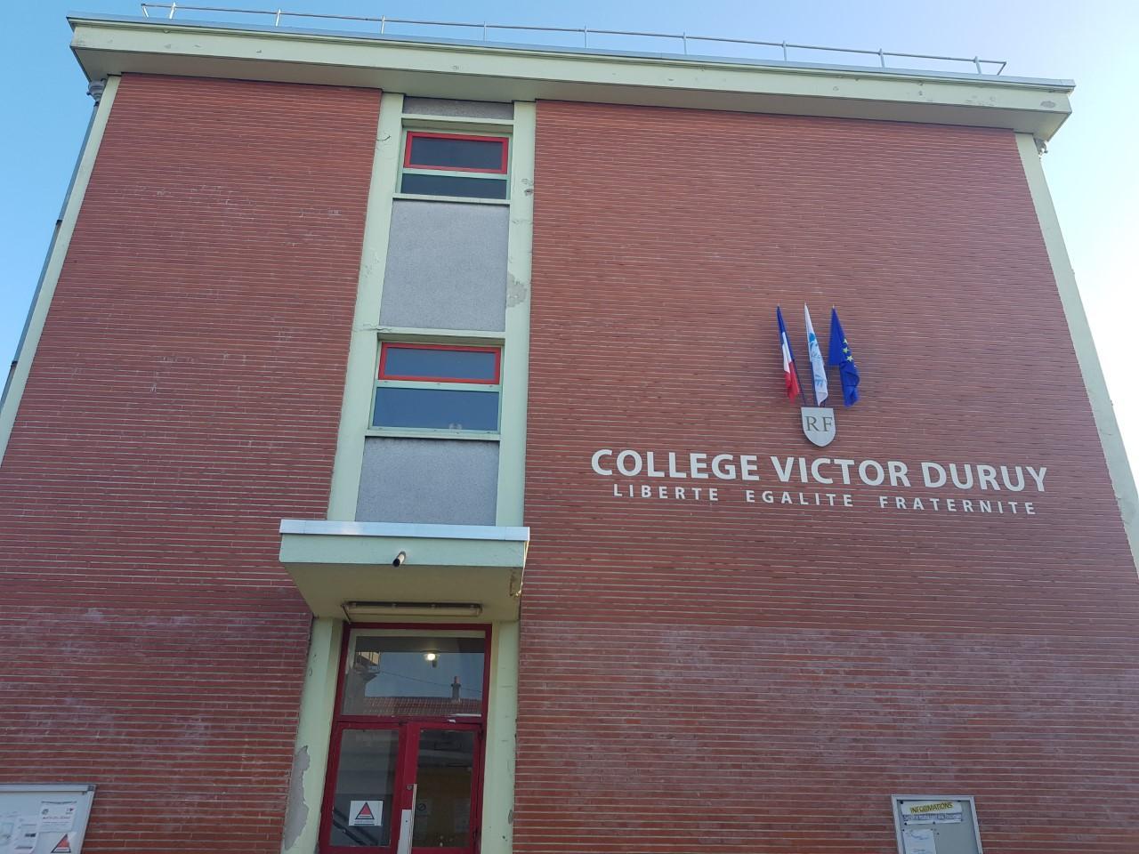 L'entrée du collège